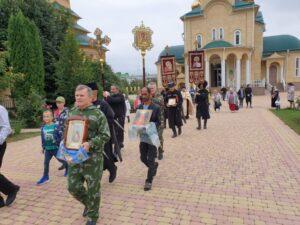 В посёлке Пятигорском состоялся праздничный крестный ход